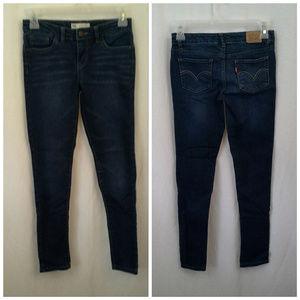 Levis womens jeans 710 Super skinny W26 L26